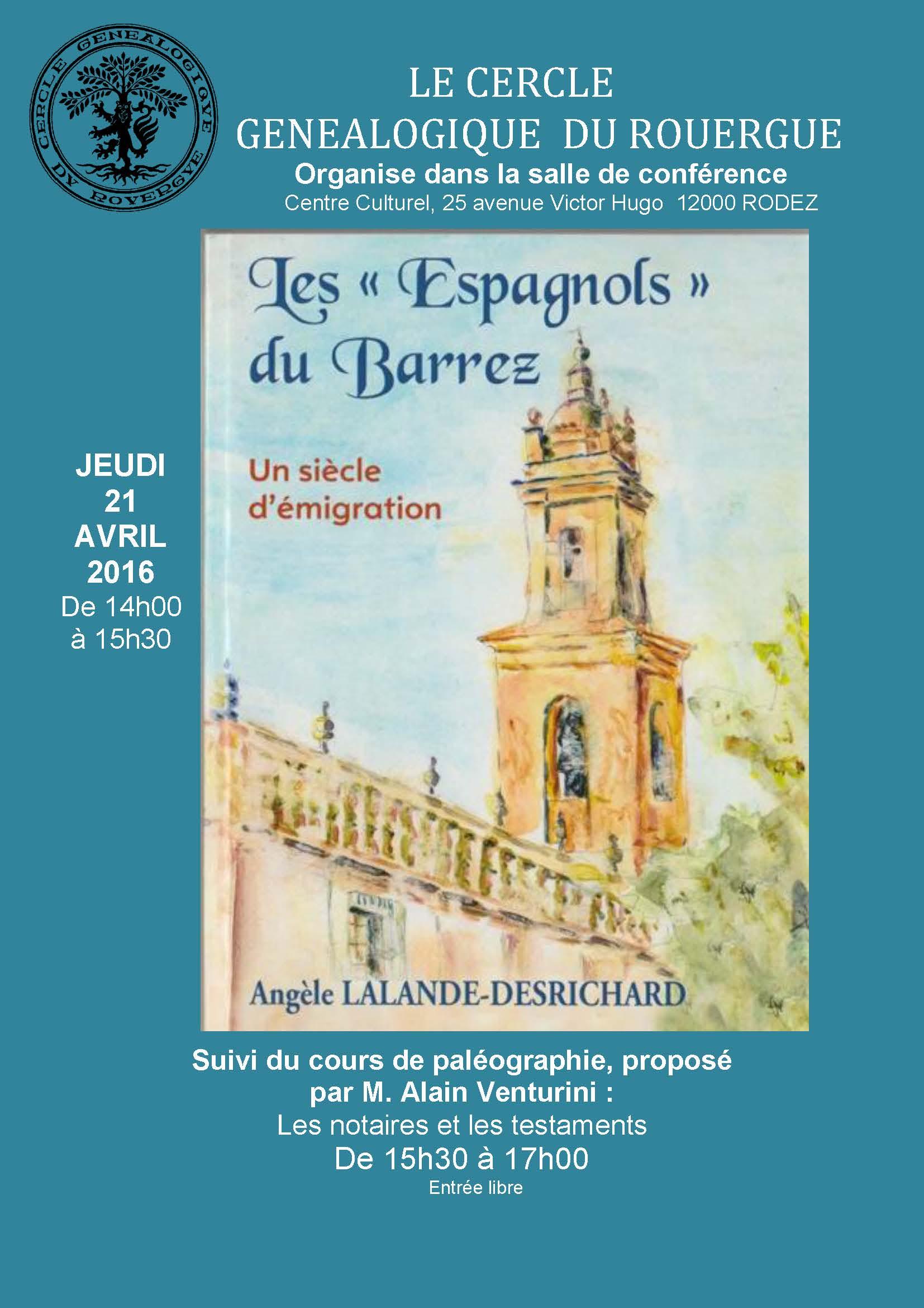 Conférence Angèle Desrichard (1)